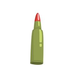 bullet cartoon vector image
