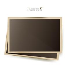 Photo Slides Frame vector image
