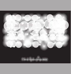 abstract background circle light bokeh for vector image