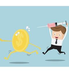 Business concept financial health check vector