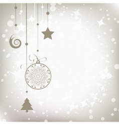 christmas background for your design vector image