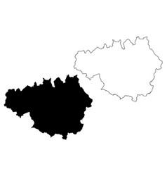 Greater manchester map vector