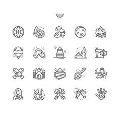 holi well-crafted pixel perfect vector image