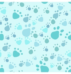 Pet legs seamless vector image