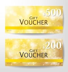Premium Gift Voucher vector