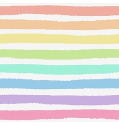 Seamless pattern with hand painted brush strokes vector