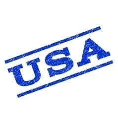 USA Watermark Stamp vector image