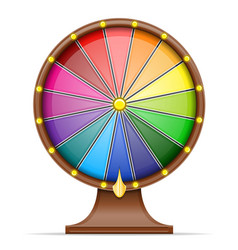 wheel of fortune stock vector image vector image