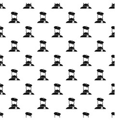 Artist pattern vector