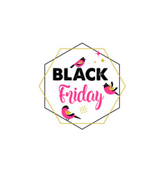black friday christmas sale banner poster vector image