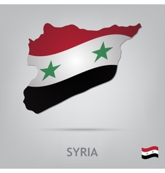 Country syria vector