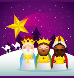 happy epiphany related vector image