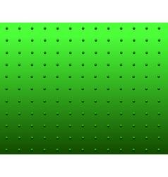 Rivet green vector