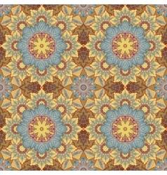 Seamless oriental ornamental pattern vector