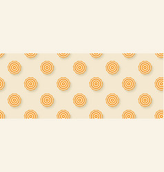 seamless pattern with sun umbrellas isolated vector image