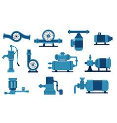 Water pump electric machine with compressor aqua vector