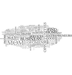 Women entrepreneurs text word cloud concept vector