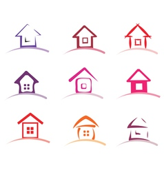 home collection vector image vector image