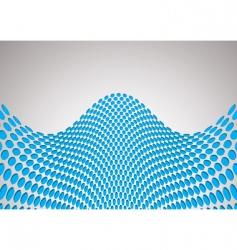 wave bulge background vector image vector image