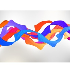 Abstract colored background with curves EPS 8 vector image vector image