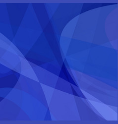 Blue abstract background from dynamic curves vector