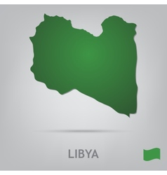 country libya vector image