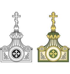 Decorative architectural detail vector