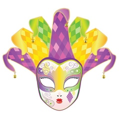 Full Face Mask vector image