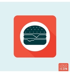 Hamburger icon isolated vector image