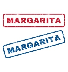Margarita Rubber Stamps vector image