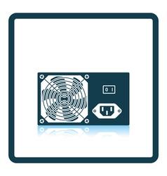 Power unit icon vector image