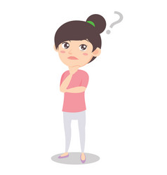 Think mother design style character vector