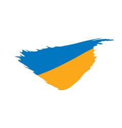 ukraine flag vector image