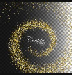 Decoration confetti element for design vector