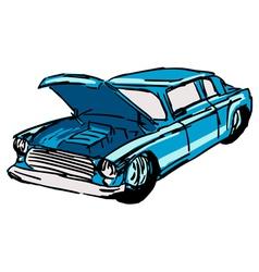 car hood vector image vector image