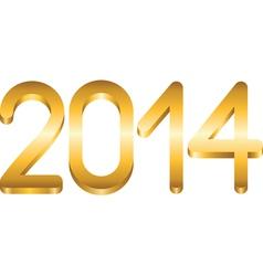 2014 year vector