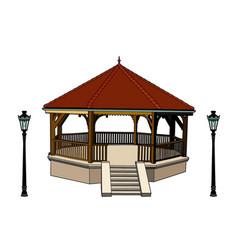 Bandstand vector