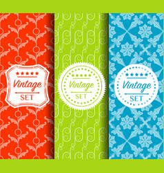 Bright seamless color pattern made of vector
