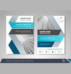 brochure design concept vector image
