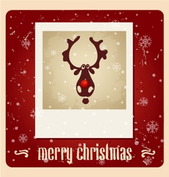 Christmas Greeting Card christmas vector image