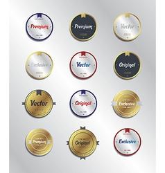 Label sticker vector
