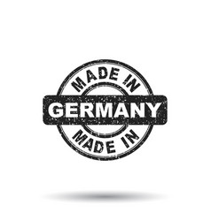 made in germany stamp on white background vector image