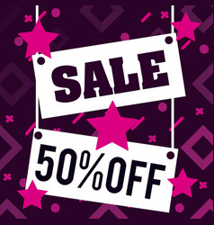 sales promotions and discounts vector image