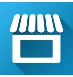 Shop Gradient Square Icon vector