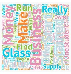 Stained glass a2z text background wordcloud vector