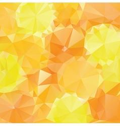 Yellow Orange Polygons2 vector image