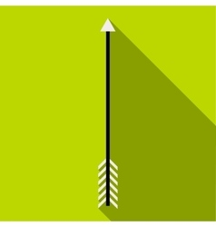 Arrow icon flat style vector image