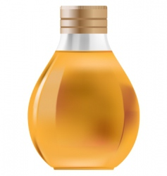 little bottle vector image vector image
