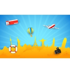 Tour and travel vector