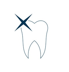 Tooth-380x400 vector image vector image